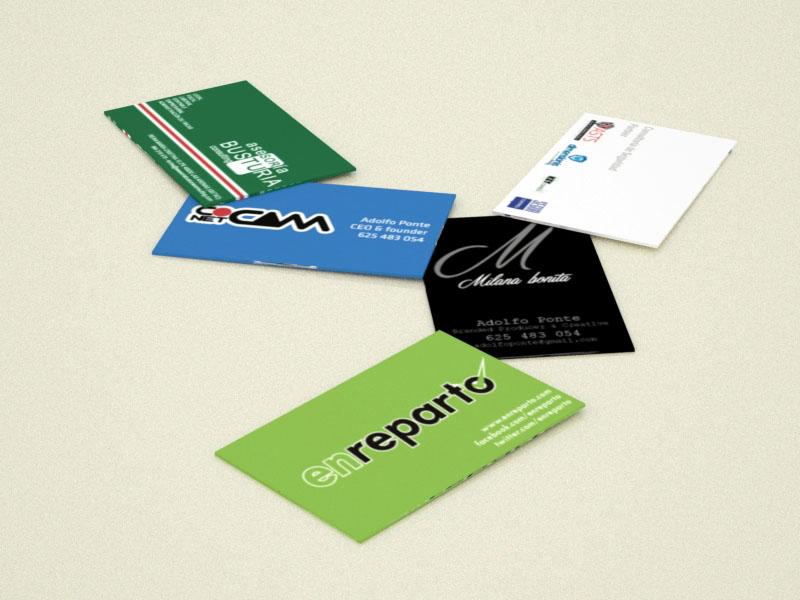 500 tarjetas de visita GRATIS